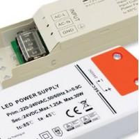 Ściemnialne zasilacze LED napięciowe